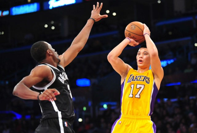 Los Angeles Lakers guard Jeremy Lin