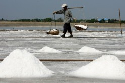 China is one of the world's largest consumers of salt.