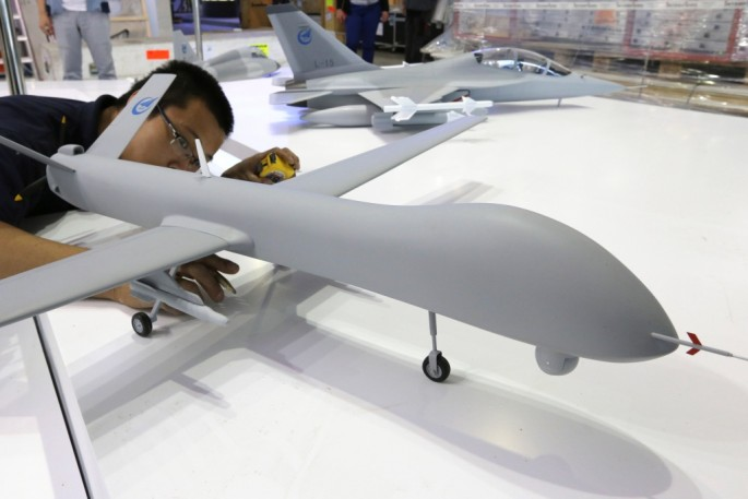 The development comes after Beijing's Aviation Expo showcased new models of fully operational unmanned aerial vehicles (UAVs).