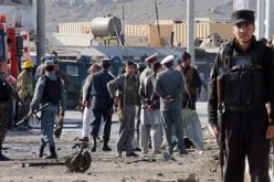 Three Injured in Kabul Suicide Car Bombing That Targeted Foreign Troops