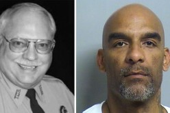 Oklahoma Reserve Deputy Robert Bates (left); Eric Harris (right)