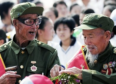 China declares Sept. 3, 2015 as a national holiday to give way for the 70th-year anniversary of World War II's conclusion.