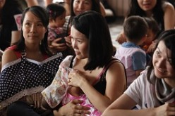 In China, public breastfeeding is not yet recognized as a norm.