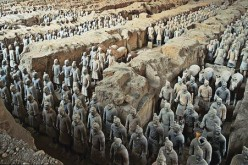 The Terracotta Warriors (also known as the Terracotta Army or Terracotta Soldiers) of Emperor Qin Shi Huang found in Shaanxi Province in central China is a known UNESCO World Heritage Site.