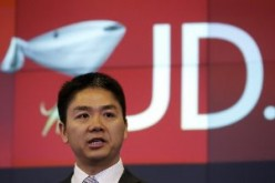 JD com founder and CEO Richard Liu at the NASDAQ Building in New York last year.