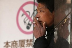 smoker in China