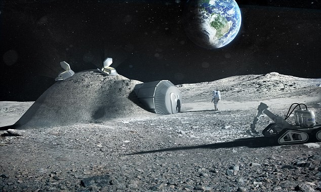 Lunarville, ESA's Planned Moon Village To Replace ISS