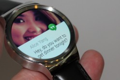 The Huawei smartwatch can connect to a 4.3 Android phone.
