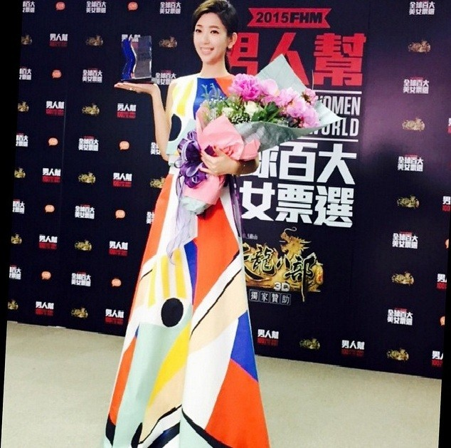 "Puff Kuo outshined 99 other ladies in Taiwan, as she gathered the most number of votes for ""FHM Taiwan 100 Sexiest Women."""