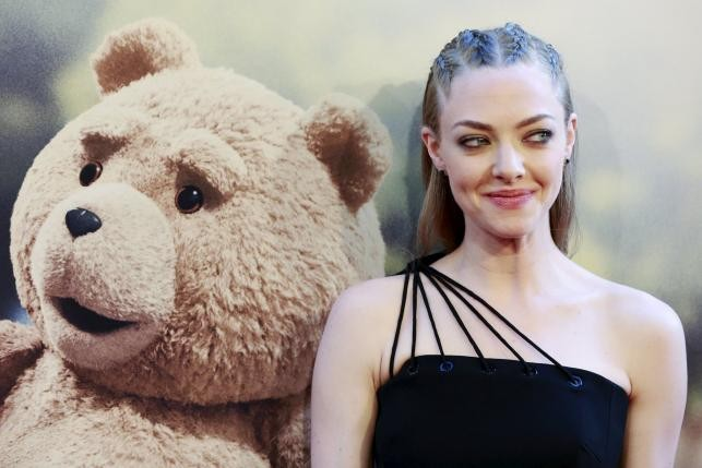 "The sequel to the 2012 high-grossing comedy film ""Ted"" has cast additions that include Amanda Seyfried; ""Ted 2"" also stars Mark Wahlberg."