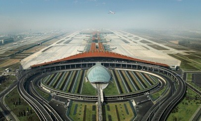 The Beijing International Airport is undergoing development and expansion plans.