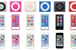 iPod in new color options