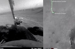 NASA releases a video of Opportunity rover's 11 year journey on Mars.