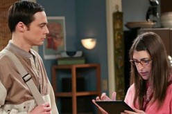Sheldon and Amy from