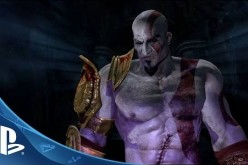 Kratos is about to battle Hades in God of War III - Remastered Edition.