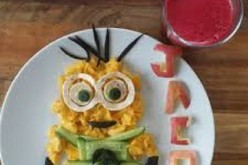 Aussie Mom Turns Healthy Food Into Her Child's Favorite Characters