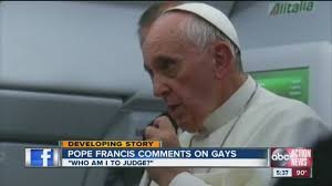 Pope Francis has answered LGBT issue.