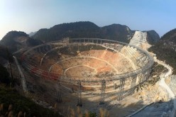 The FAST project measures 500m in diameter and is 10 times more sensitive than structures of the same kind.