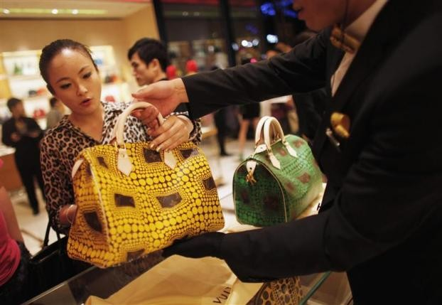 Luxury brands weaken in China as consumers look out for new, emerging luxury brands.