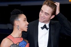 Robert Pattinson and FKA Twigs attend the MET Gala.