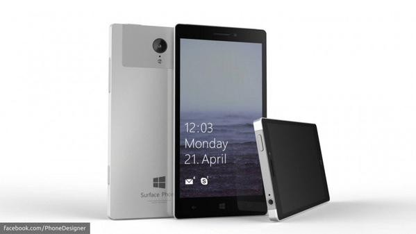 A rumored image of the much-anticipated Microsoft Surface Phone, which is codenamed as Project Juggernaut Alpha.