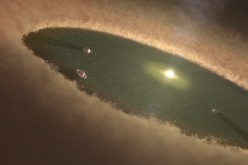 Southwest Research Institute scientists used computer simulations to nail down how Jupiter and Saturn evolved in our own solar system. These new calculations show that the cores of gas giants likely formed by gradually accumulating a population of planeta