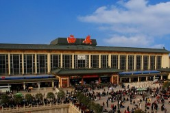 Who would have thought that the Xi'an Railway Station would attract a number of drug addicts and child beggars?