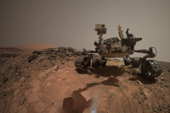 NASA's Mars Curiosity rover has taken an amazing selfie at the Marias Pass region in Mount Sharp.