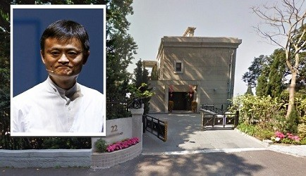 Alibaba founder Jack Ma reportedly purchased a luxury house in Hong Kong worth HK$1.5 billion ($193.5 million).