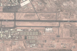 An aerial view of Camp Lemmonier, the U.S. military base in Djibouti's Djibouti-Ambouli International Airport.