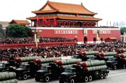 The Chinese military displayed their armaments during the National Day parade in Beijing.