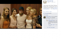 Robert Pattinson crashed an Irish couple's wedding