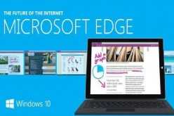 Edge is Microsoft's newest Internet browser integrated in Windows 10.