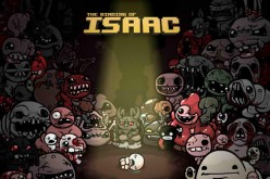 A promotional poster for the video game The Binding of Isaac.
