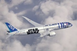 All Nippon Airlines recently unveiled the Star Wars inspired Boeing Dreamliner airplane.