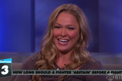 Ronda Rousey Weighs In on Sex Before a Fight