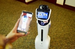 Jiaojiao, a humanoid robot, will he a familiar sight in many Bank of Communications branches