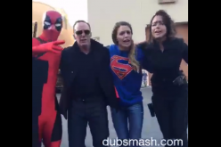 Dubsmash wars continue with Agents of S.H.I.E.L.D. recruiting Supergirl, Deadpool, and Batman.