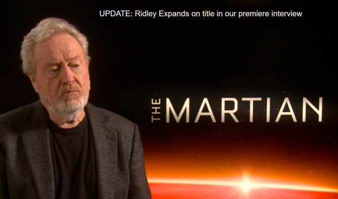 Ridley Scott Reveals 'Prometheus 2' Title and Says It Will Be Connected to Alien franchise.