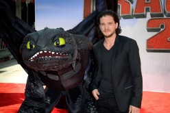 British actor Kit Harington arrives at the premiere of