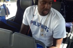 Andray Blatche played for the Philippines team Gilas Pilipinas at the 2015 FIBA Asia Championship in China.