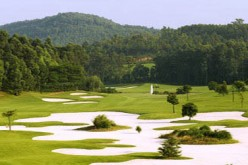 Golf courses in Beijing, like the 135-acre, 18-hole CBD International Golf Club, will need to find ways to maximize the reduced water supply it will be allocated with.