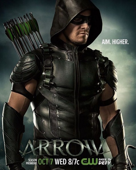 "Stephen Amell will reprise his role as the Arrow in ""Arrow"" Season Four."