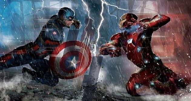 "Captain America and Iron Man will clash in ""Captain America: Civil War."""