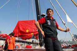 Guo is fresh from his record-breaking voyage via the North-East passage in the Arctic Ocean, which he completed with an international crew composed of two Frenchmen, a Russian and a German.