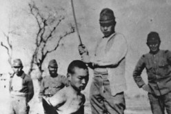 Photos like these depict the atrocities of Japanese soldiers during the 1937 Nanjing Massacre.