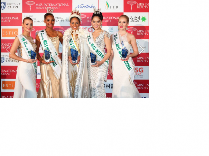 Contestants of Miss International 2015, to be held on November 5, 2015 at the Shinagawa Prince Hotel Hiten Hall in Tokyo, Japan.