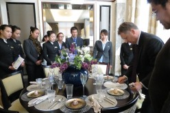 There are now more aspiring butlers in China as the number of the country's wealthy families increases.