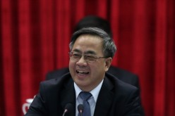 "Guangdong's Communist Party chief Hu Chunhua spoke of making the province a ""major center"" for economic trade in the region."