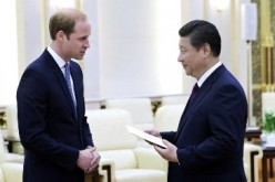 President Xi Jinping met with Britain's Prince William in Beijing in March.